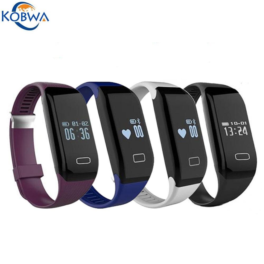 imágenes para H3 Sweatproof Deportes Bluetooth Inalámbrico Inteligente Muñequera Pulsera Podómetro Rastreador De Fitness Con Pulsómetro