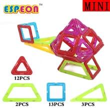 30Pcs Mini Magnetic Building Blocks Kids Model Building Toys Construction Magnetic Designer Toy For Children Enlighten Brick