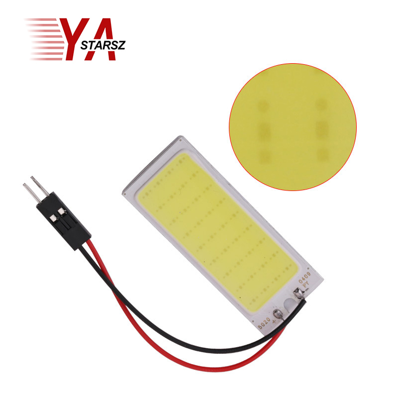 Car led Super Bright White 8W COB 36 Chip LED Car Interior Light 12V Car LED