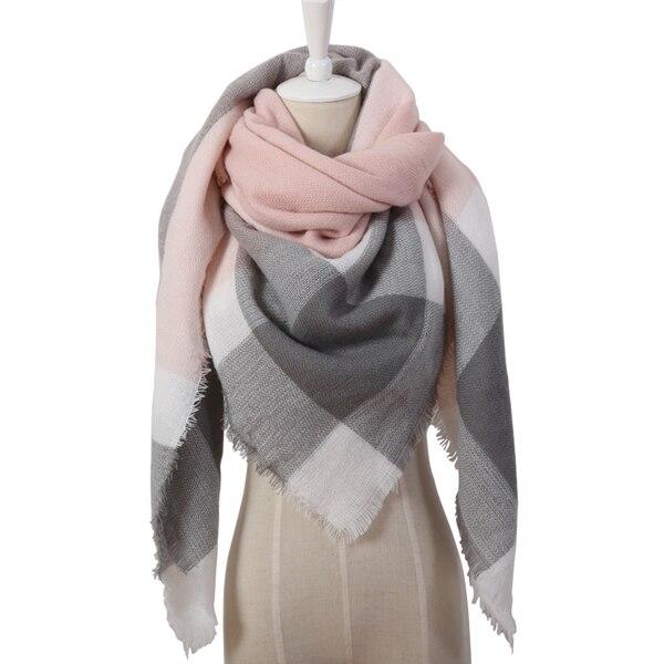 Цвет: треугольник розовый серый