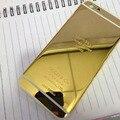 """100% Новый 24 К Золото Корпус Задняя Крышка Батареи с ЛОГОТИПОМ и Кнопки и Сим Лоток Для iPhone 6 4.7 """"для iPhone 6 Плюс 5.5"""" высокое Качество"""