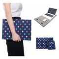 """Новый синий чувствовал ноутбук рукав чехол для macbook air 11 12 pro сетчатки 13 красочный точка сообщения сумка для ноутбука для 11 """" 12 """" 13 """" macbook"""
