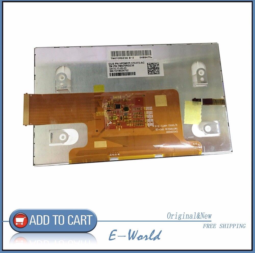Original and New 7inch LCD screen TM070RDZ38 TM070RDZ free shipping