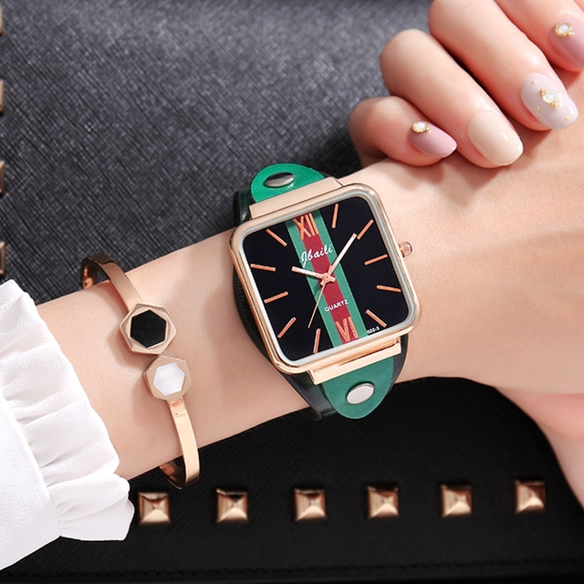 JBAILI Brand Luxury Women Bracelet Watches Fashion Women Dress Wristwatch Ladies