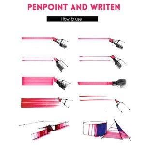 Набор маркеров TOUCHFIVE 12-168, набор ручек с двойной головкой, художественная ручка, маркеры для рисования манги, выдвижной ящик, ручка для рисова...