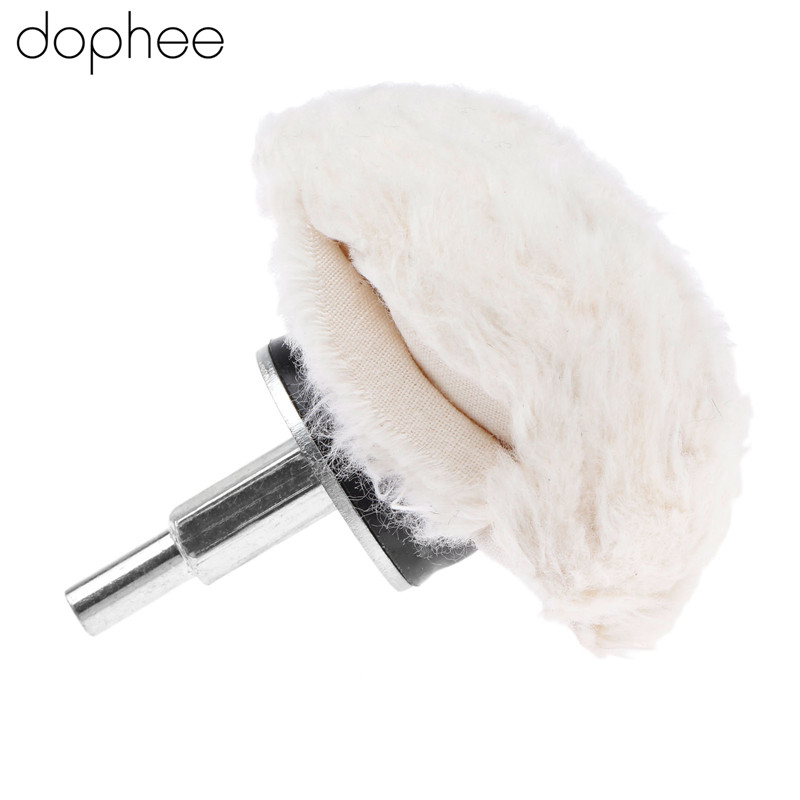 Dophee Dremel Accessories 100% Cotton Dome Polishing Mop Grinding Buffing Wheel Polish Pad For Drill Rotary Tool 75mm/3 Inch 1PC