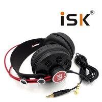 Hot ISK HP 580 Original Headphone Semi Open Dynamic Stereo Monitoring Earphone DJ Headset Noise Cancelling