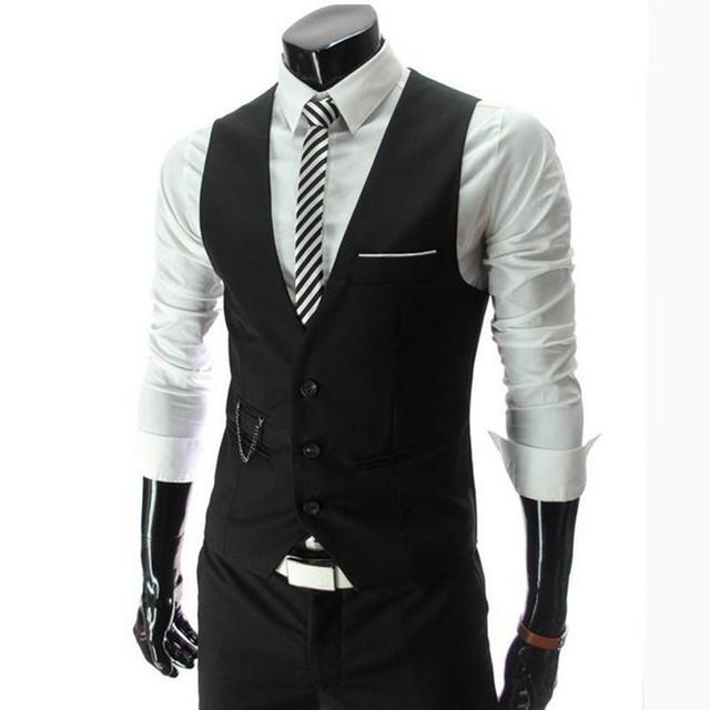 O novo 2016 moda masculina cavalheiro negócio terno colete/casamento moda cavalheiro terno colete dos homens/Homem banquete colete