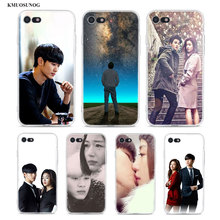 Transparent Soft Silicone Phone Case You who came from the stars for iPhone XS X XR Max 8 7 6 6S Plus 5 5S SE