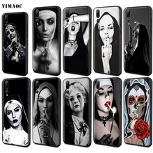 YIMAOC Sister Nun Case for Huawei Mate 30 20 Honor Y7 7a 7c 8c 8x 9 10 Nova 3i 3 Lite Pro Y6 2018 P30 P smart(China)