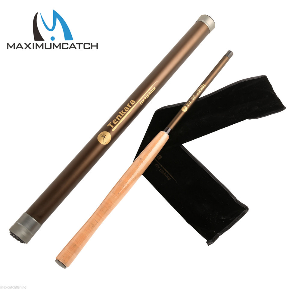 Maximumcatch Super Light Tenkara Fly Rod 12FT 7:3 ACTION 9 Segments Carbon Fiber	Fly Fishing Rod maximumcatch 13ft tenkara fly fishing rod 7 3 action 9 segments super light traditional tenkara fly rod
