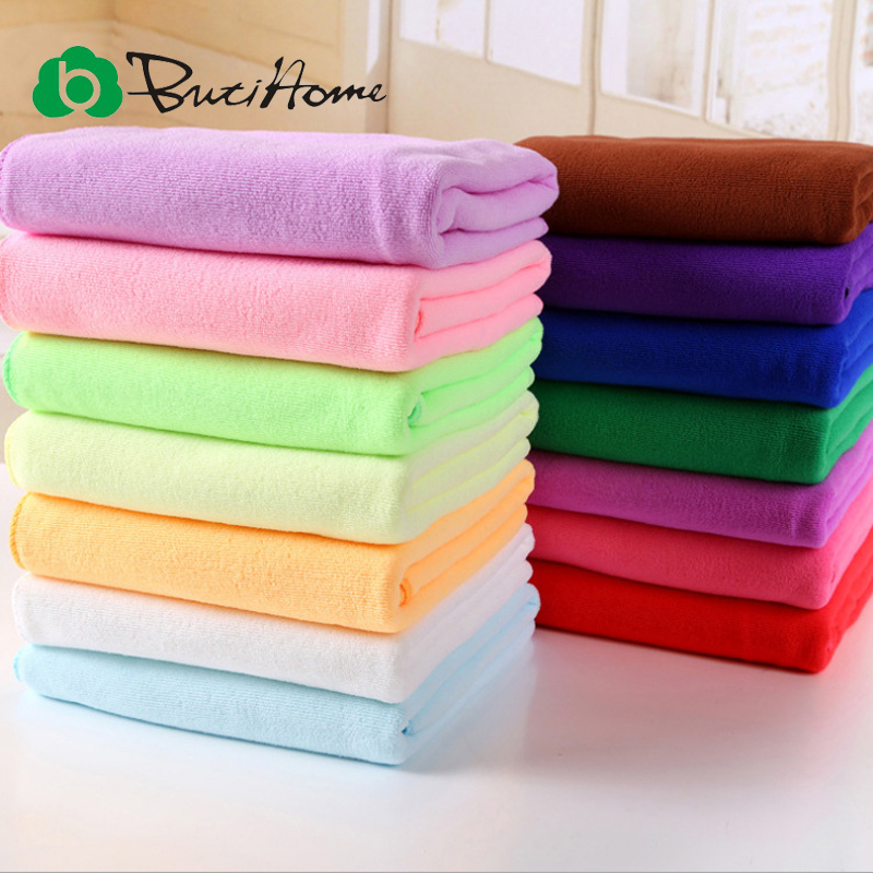 Zip Soft Microfiber Towel: 2 Pcs Family Lovers Couple Set Nano Microfiber Towel 70