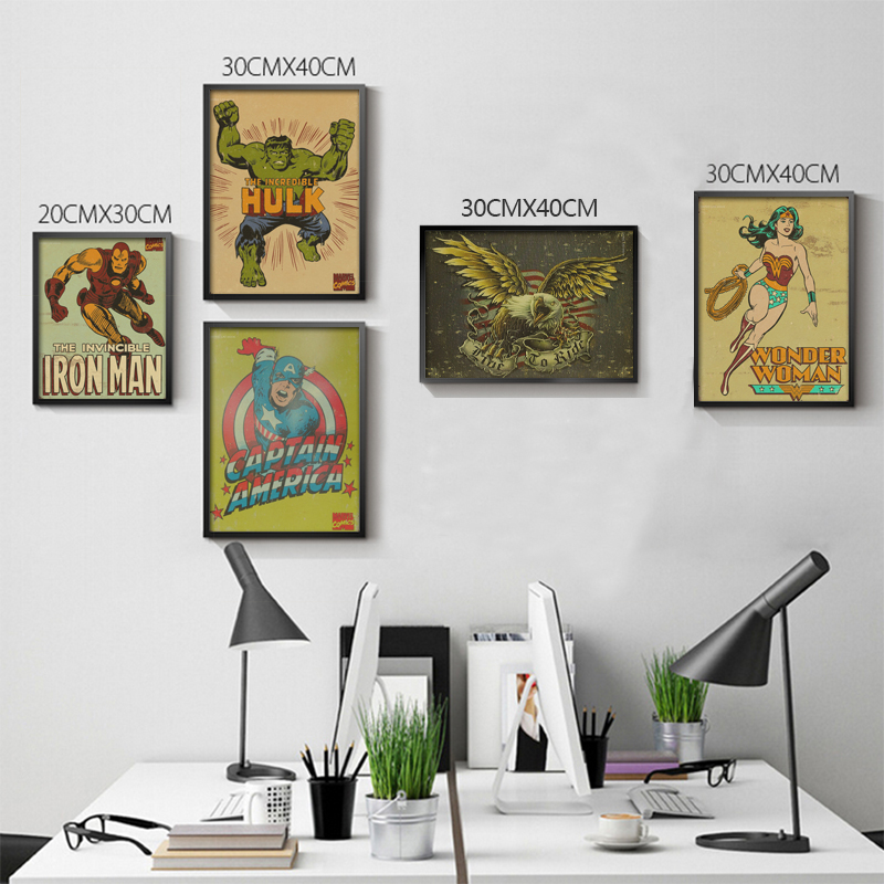 Coffee Diagram Paper Collection Cafe Kitchen Drawings Posters Adornment Vintage Poster Wall Stickers