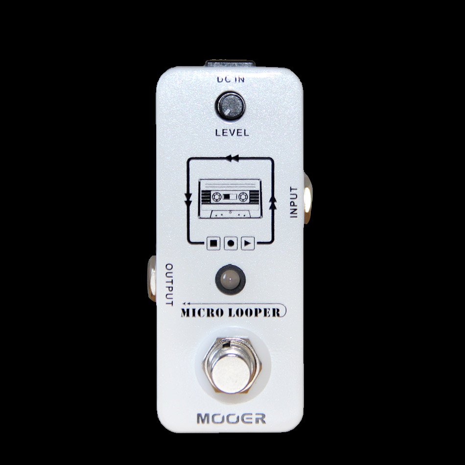 Mooer Micro Looper Mini Guitar Effects Pedal High Quality Sound Restoration Guitar Pedal Guitar Accessories hand made triple effects loop pedal 3 looper switcher guitar pedal hb 1