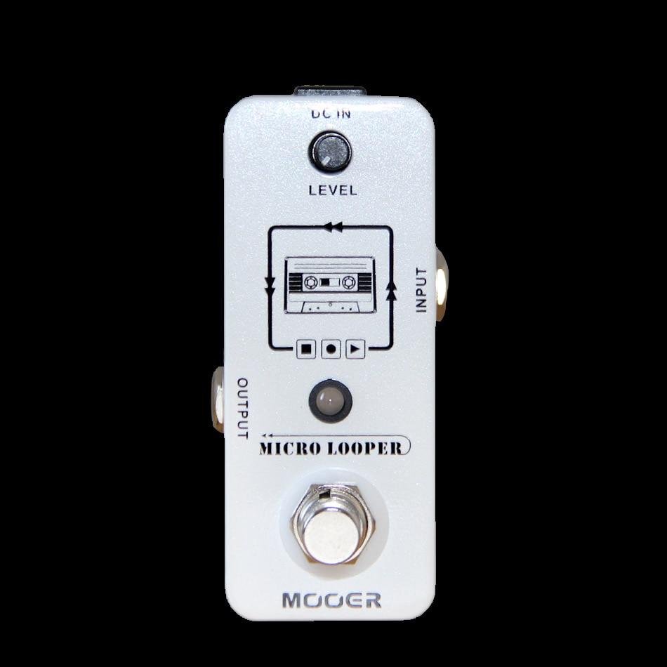 Mooer Micro Looper Mini Guitar Effects Pedal High Quality Sound Restoration Guitar Pedal Guitar AccessoriesMooer Micro Looper Mini Guitar Effects Pedal High Quality Sound Restoration Guitar Pedal Guitar Accessories