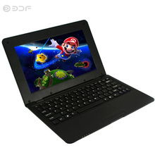 New 10.1 Inch Fashion Portable Notebook Quad Core Android 6.0 laptop Android Tablet Pc WiFi Bluetooth USB RJ45 Mini Netbook