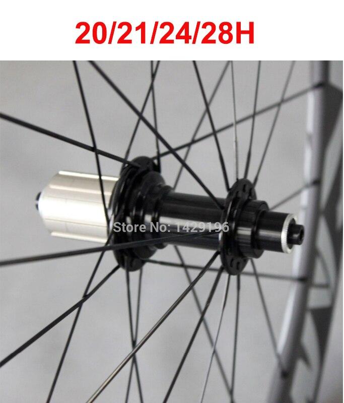 20/21/24/28 H Super Light J virage/crochet Powerway R13 moyeu de vélo de route arrière 11 vitesses 20/21/24/28 trous de clé noir rouge blanc moyeu de vélo