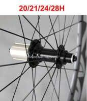 20/21/24/28 hスーパーライトjベンド/フックpowerway r13ロード自転車ハブリア11速度20/21/24/28キー穴黒赤白バイクハブ