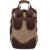Venda quente 2016 Novo saco Retro Da Lona Adolescente Saco De Duffle Grande Capacidade Sólidos Zipper Pu Mochila Laptop Mochila Saco Ocasional Do Vintage