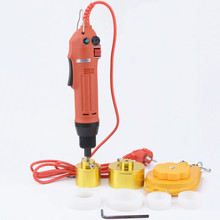 new hand held small electric capping machine automatic screw cap tool bottle cap lock cover lid installment machine недорого