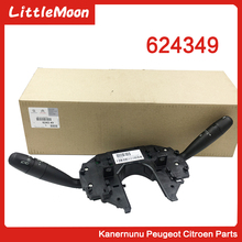 купить LittleMoon Original brand new headlight switch Turn signal switch Wiper switch for Citroen C4 Triumph C-quatre 624349 дешево