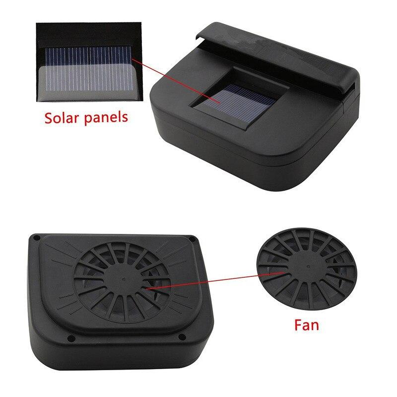 10 W Portable Car exhaust fan Purify air Auto Air Vent ...