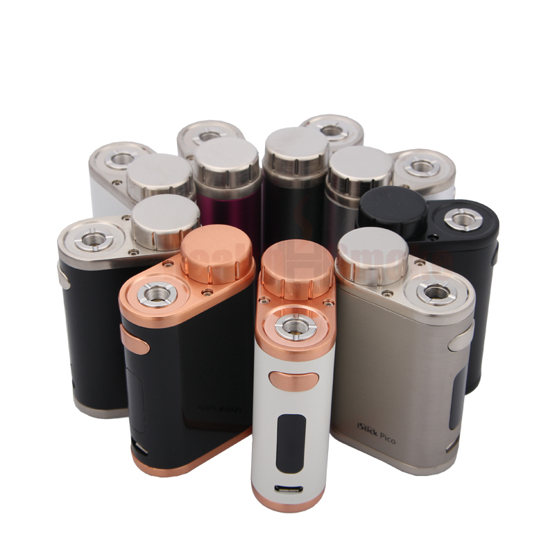 Original Eleaf iStick Pico 75W MOD Box Vape Support Melo III/Melo 3 Mini Atomizer RDA/RDTA Tank Electrconic Cigarettes Mod Vape цена 2017