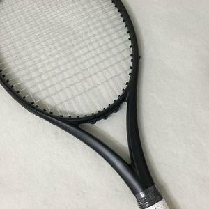 Новая таможенная Теннисная ракетка из 100% углеволокна, Тайваньская качественная Теннисная ракетка OEM 300 г Nadal 100 кв. Дюйм. Черная ракетка