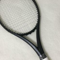 Nuovo Dogana 100% in Fibra di Carbonio Racchetta da Tennis Taiwan Oem Qualità Racchetta da Tennis 300G Nadal 100 Sq. in. Racket Nero