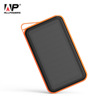 ALLPOWERS Power Bank 15000mAh Portable Solar PowerBank Charger for iPhone 6 6s 7 7plus iPad Samsung GALAXY S7 S8 etc.