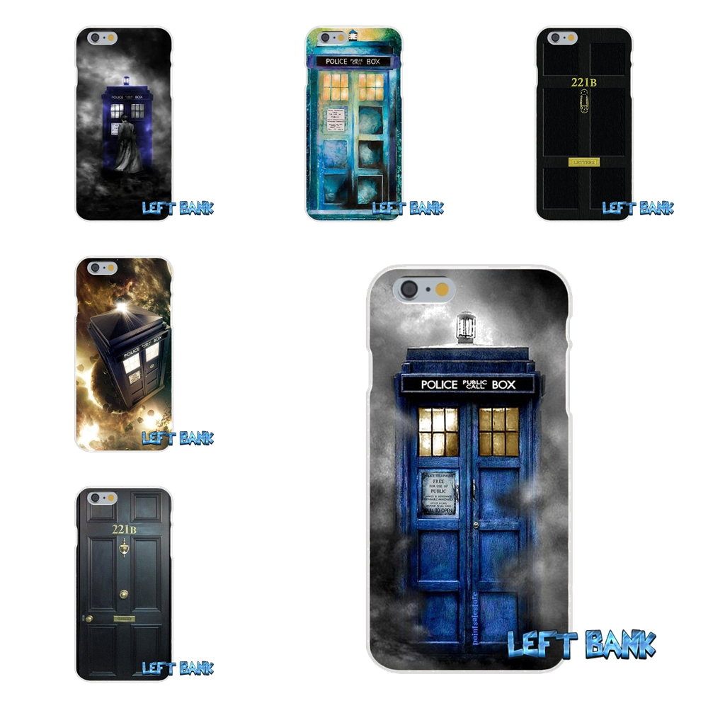 Sherlock Holmes 221B Doctor Who Slim Silicone Phone Case For Samsung Galaxy S3 S4 S5 MINI S6 S7 edge S8 Plus Note 2 3 4 5