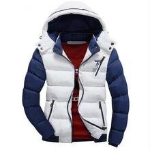 1955b248016d Neue Ankunft 2017 Winterjacke Männer Warme Jacken Casual Parka Männer  Baumwolle gefütterte Jacke Lässig Dicken Outwear Hübsche M..