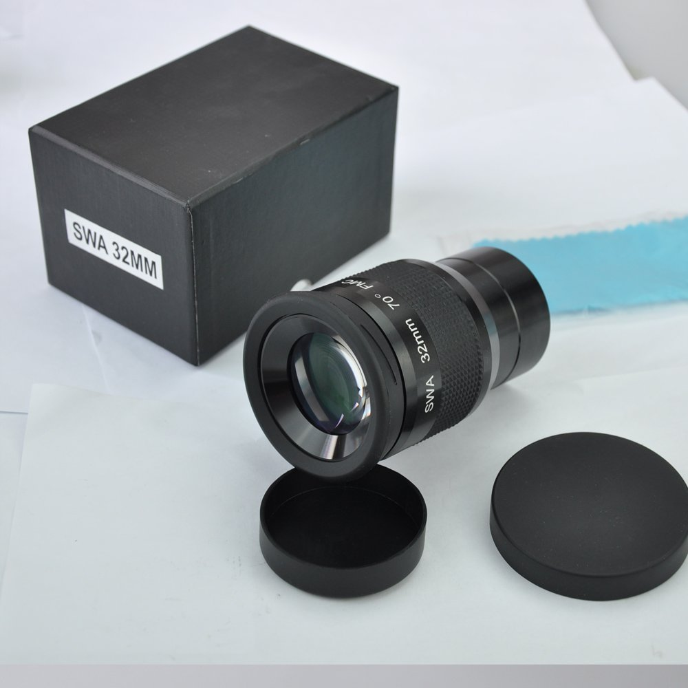SWA 2 inch 32mm Super Wide Angle 70 Degree Eyepieces for Astronomical Telescope swa 1 25inch 15mm super wide angle 70 degree eyepieces for astronomical telescope five elements fully coated high index glass