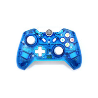 Wireless Controller Controle For Microsoft Xbox One Controller Joystick For Xbox One PC Windows Gamepad Transparent with LED