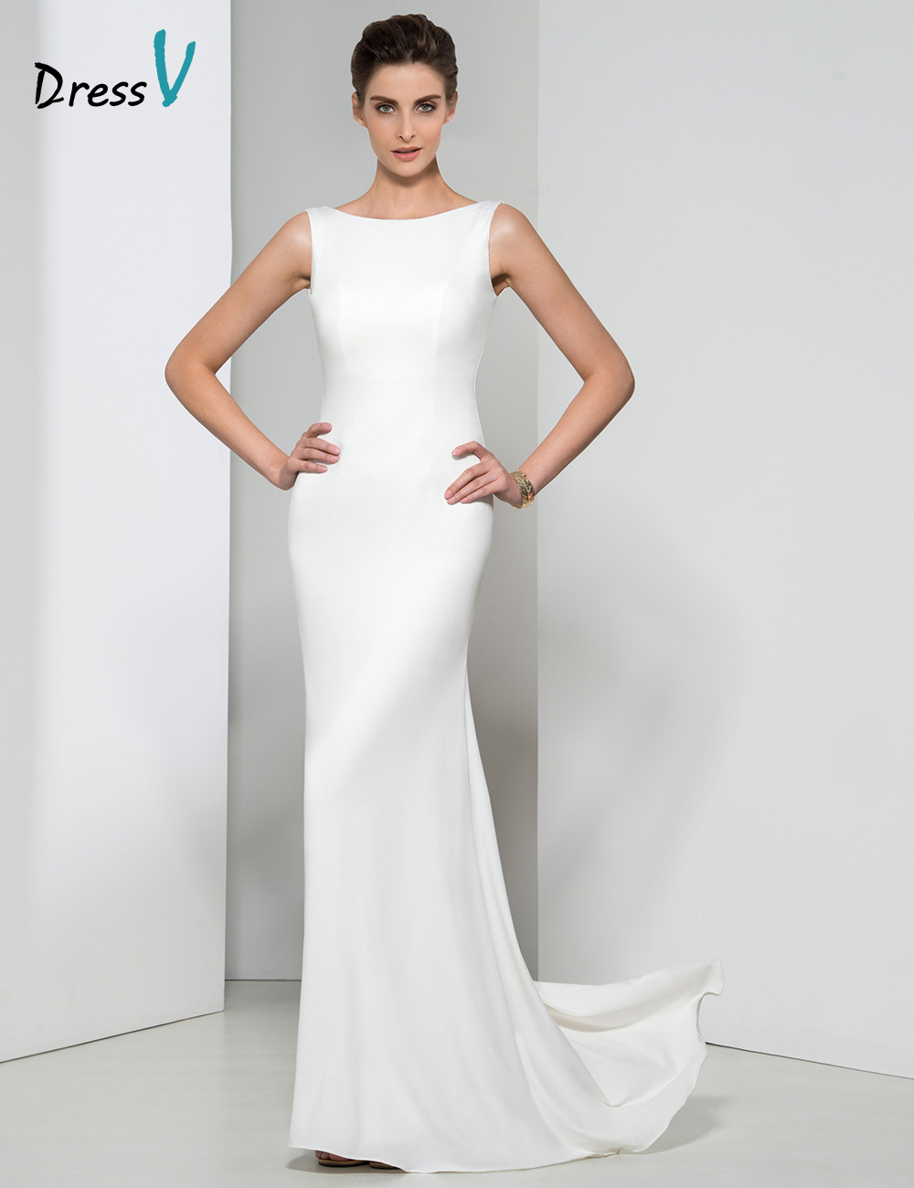 Popular Long White Evening Dress-Buy Cheap Long White Evening ...