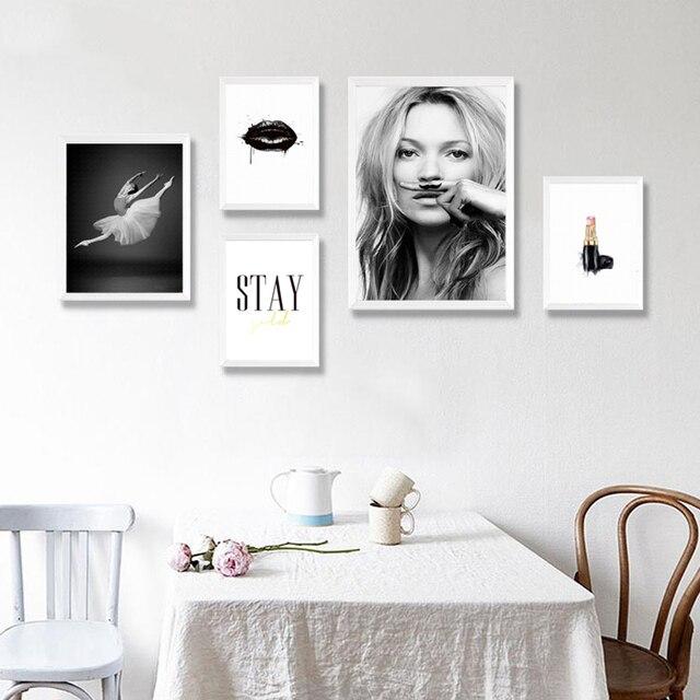 minimalis art lukisan cetakan poster decor parfum lipstik gambar di dinding kanvas untuk ruang tamu kamar tidur dekorasi pd0449
