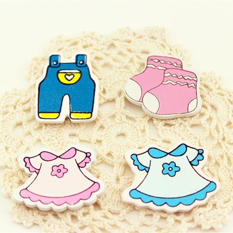 10 pcs/bag Baby skirt boy girl carriage stickers refrigerator Home Decoration Fridge magnet miniature figurine Kids Message post