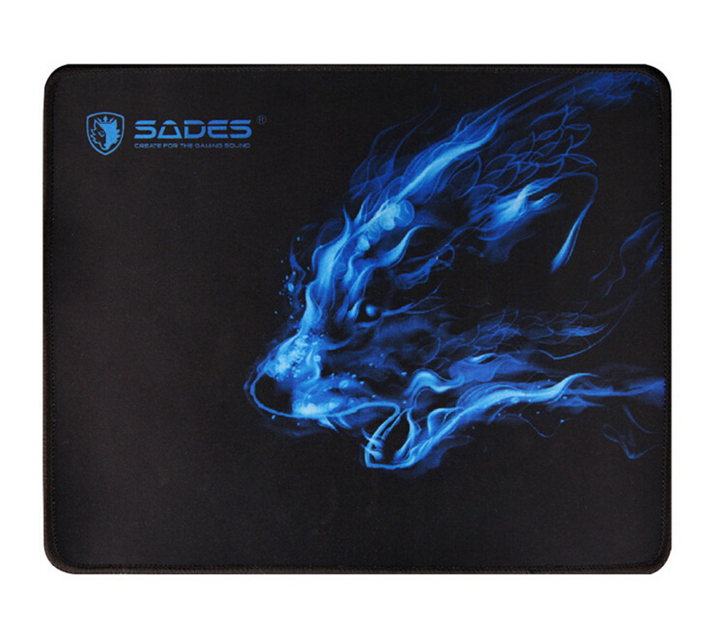 5901f30ef0 Black Comfort Wolf Pattern 300*250*3 MM Anti Slip Laptop Computer PC  Mousepad