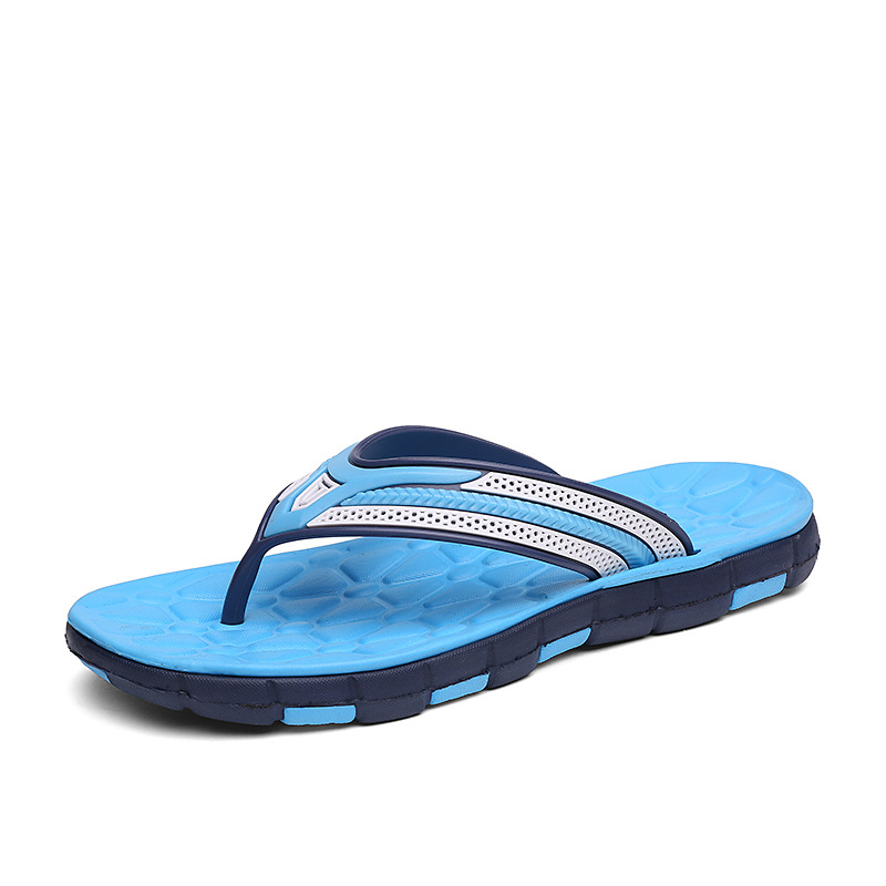 Men Beach Flip Flops 2019 Summer Casual Shoes Man Slip-on Slippers Male Casual Sandals Mens Bathroom Flip Flop Slides SH022808
