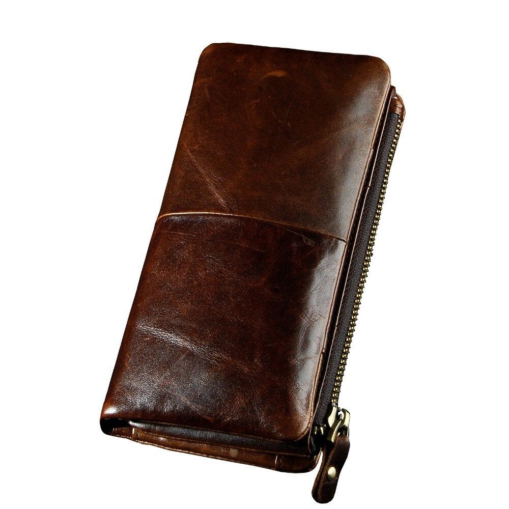 Оригинальный кожаный Для мужчин известный бренд моды businee Card Case Держатель Повседневное чековой книжки бумажник оснастки дизайнер кошелек т... ...