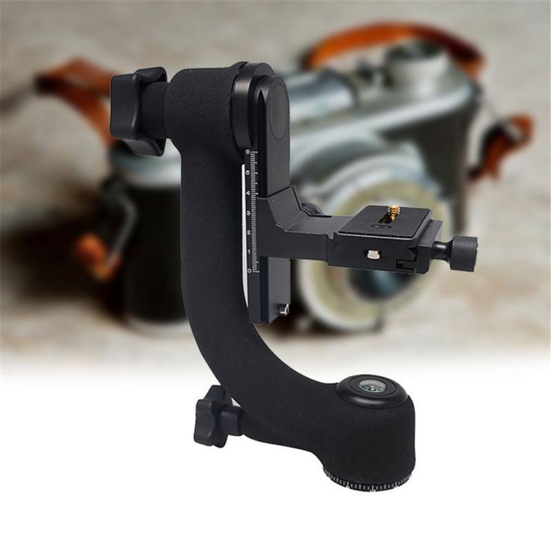 Professionnel Caméra Trépied 360 Degrés Cardan Rotule Heavy Duty Quick Release Pour Téléobjectif DSLR Tir En Plein Air Trépied Tête