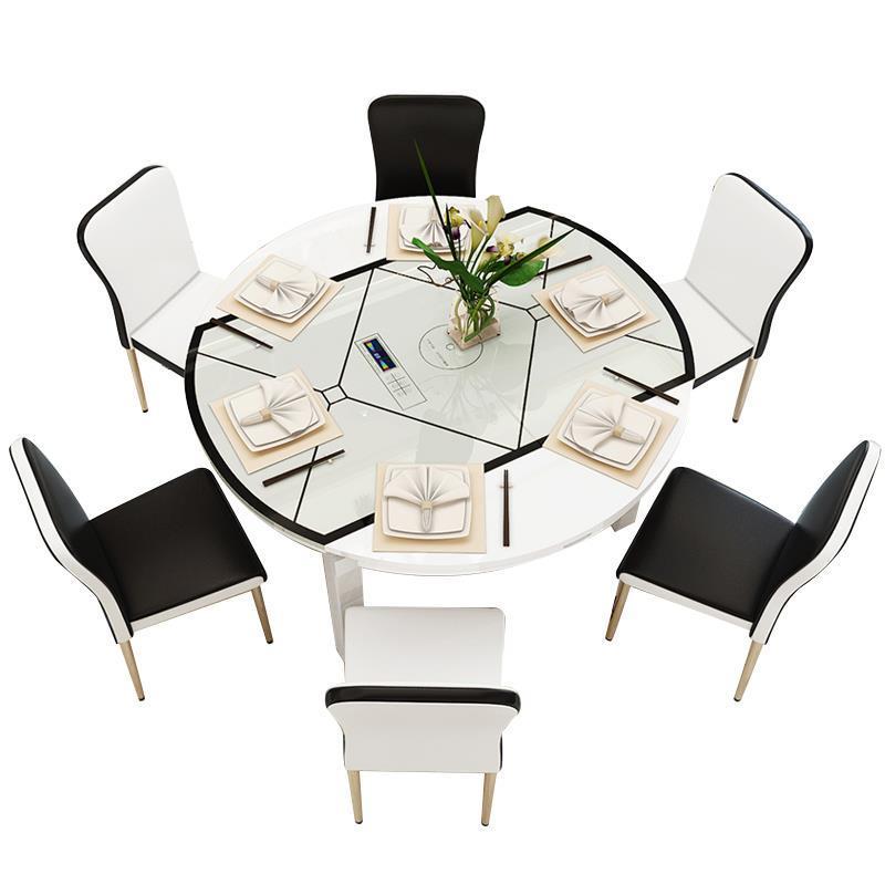 Kitchen Salle A Manger Moderne Eet Tafel Yemek Masasi Juego Wood Round Desk De Jantar Bureau Mesa Comedor Dining Room Table