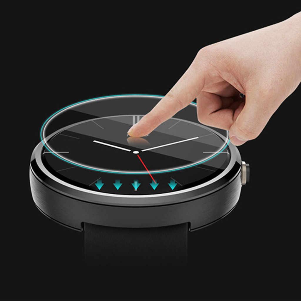 1PC Limpar Filme Protetor de Tela De Vidro Temperado para Fósseis 4 Gen Q Venture HR Relógio Inteligente acessórios Protetor