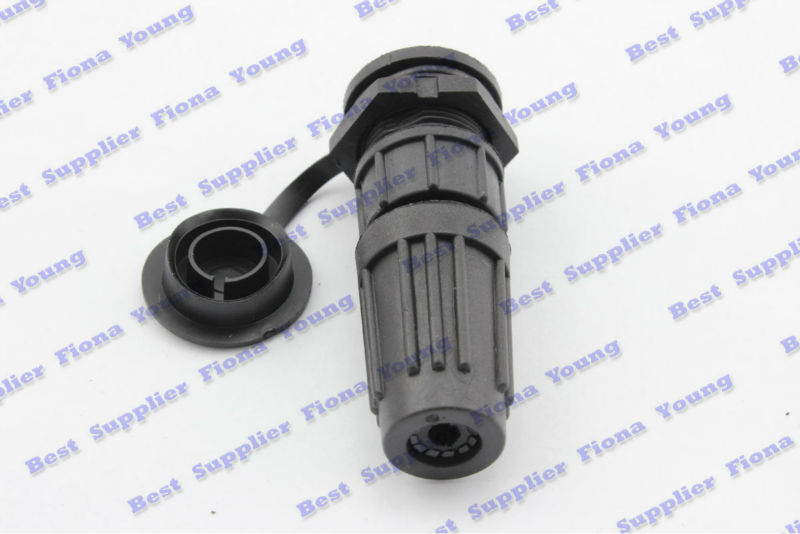 5 pcslot Black Straight 12mm 4 Pin Waterproof XLR Plug Aviation Radio PCB Electrical Connectors Free Shipping free shipping 5x 7pin plug 25mm square panel mount receptacle chassis 7 pin aviation connectors ham radio pcb for wire connector