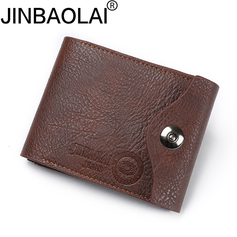 Fashion 2018 Brand Wallet Men Leather Men Wallets Purse Short Male Clutch Leather Wallet Mens Money Bag Quality Guarantee