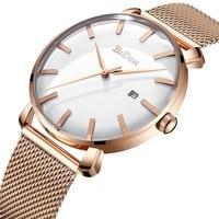 Men watch business mens watches stainless steel Biden brand man wristwatches quartz waterproof calendar Citizen movement