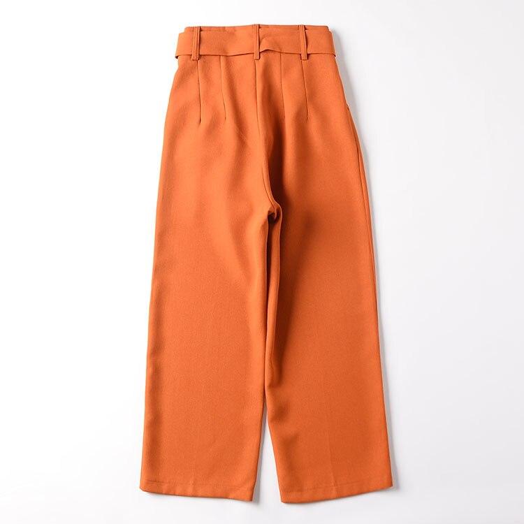 9 pantaloni pantaloni casuali delle Donne