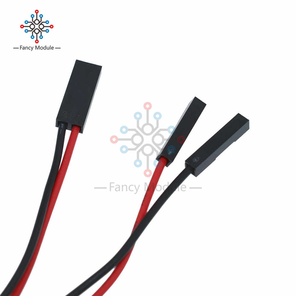 2Pcs 2Pin 70cm Cable set Female-Female Jumper Wire for Arduino 3D Printer Reprap