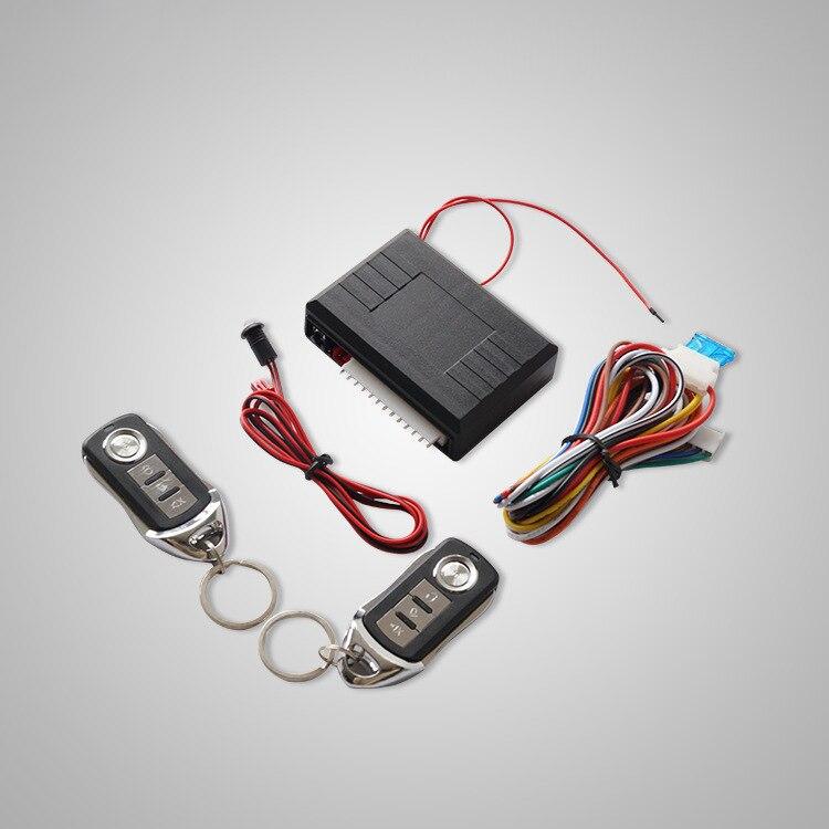 Bon usage système d'alarme de voiture Kit de verrouillage Central serrure de porte à distance système d'entrée sans clé véhicule avec télécommandes pour BWM