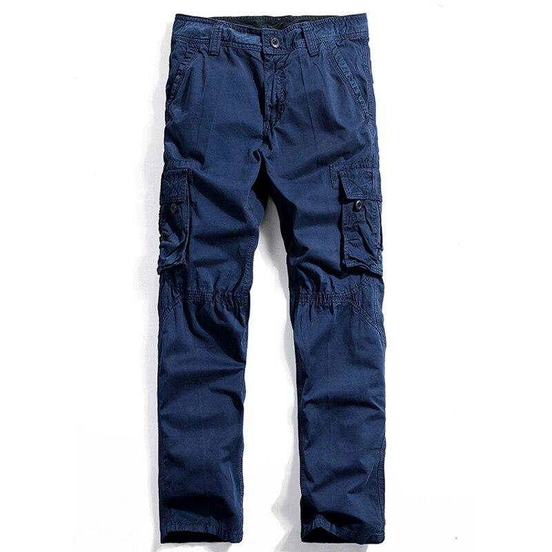 Transporti Pantallona të reja pune për burra të rinj Militay - Veshje për meshkuj